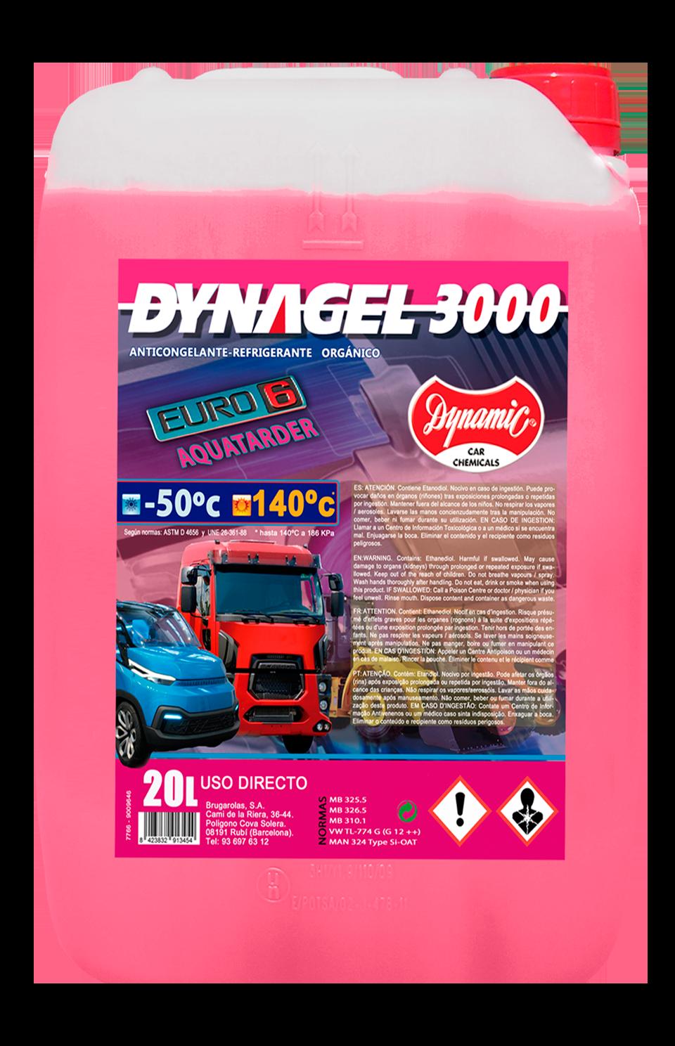 dynagel 3000 si oat Euro 6